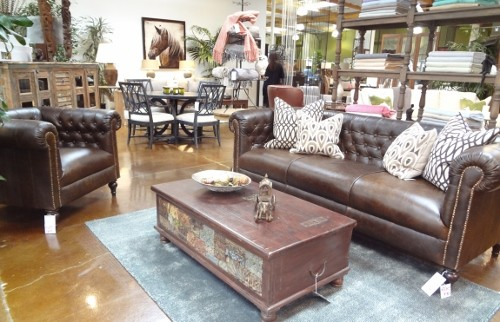 Leather Sofas traditional-living-room