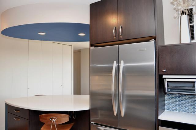 Modern Kitchen in Chicago high rise modern-kitchen