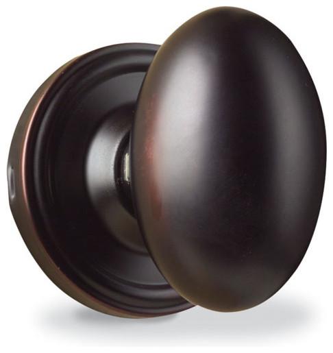 Weslock Julienne Egg Door Knob modern-doorknobs