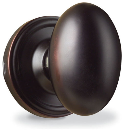 Weslock Julienne Egg Door Knob modern knobs