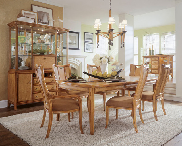 american drew antigua dining room collection american drew southbury round dining table with leaves