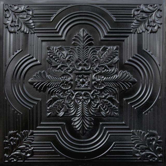 206 faux tin ceiling tile 24x24 black ceiling tile by decorative