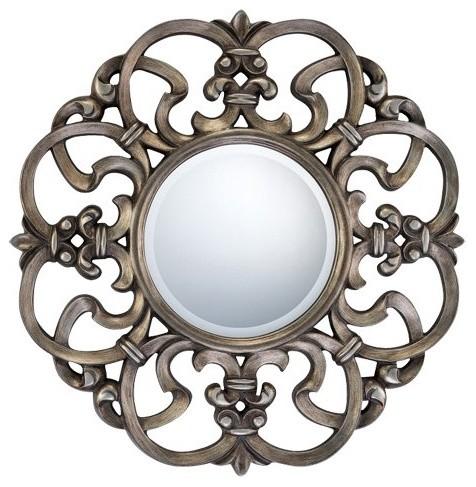 Quoizel Tara Wall Mirror 31.5D in. traditional-mirrors