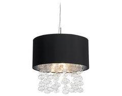 Possini Euro Design Bubble Cascade Pendant Light contemporary-pendant-lighting