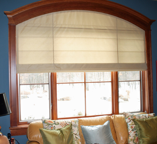 Roman Shades Window Treatments Grand Rapids By