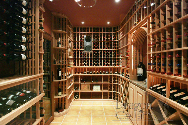 Residential Custom Wine Cellars traditional-wine-cellar