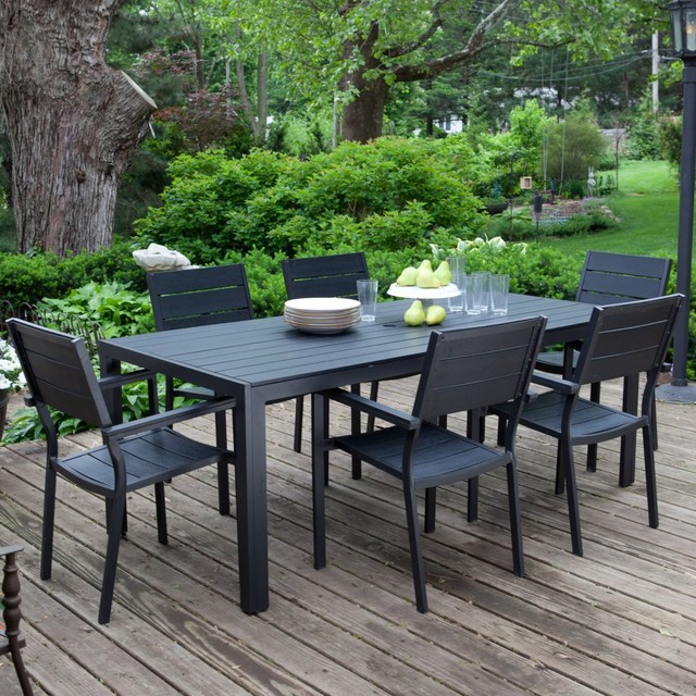 Anacara Harmony Patio Dining Set Traditional Patio Furniture And Outdoor Furniture By