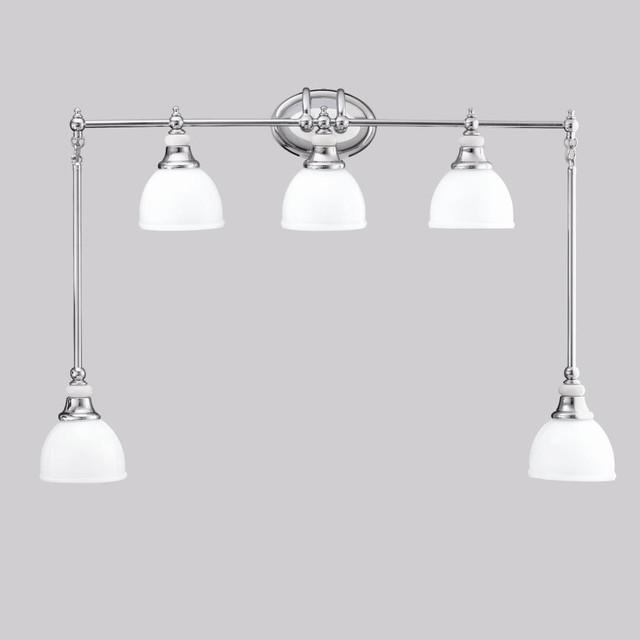 New Shop Kichler Lighting 3Light Tully Chrome Transitional Vanity Light