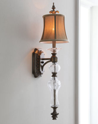 Golden Shade Sconce - Traditional - Wall Lighting - by Horchow