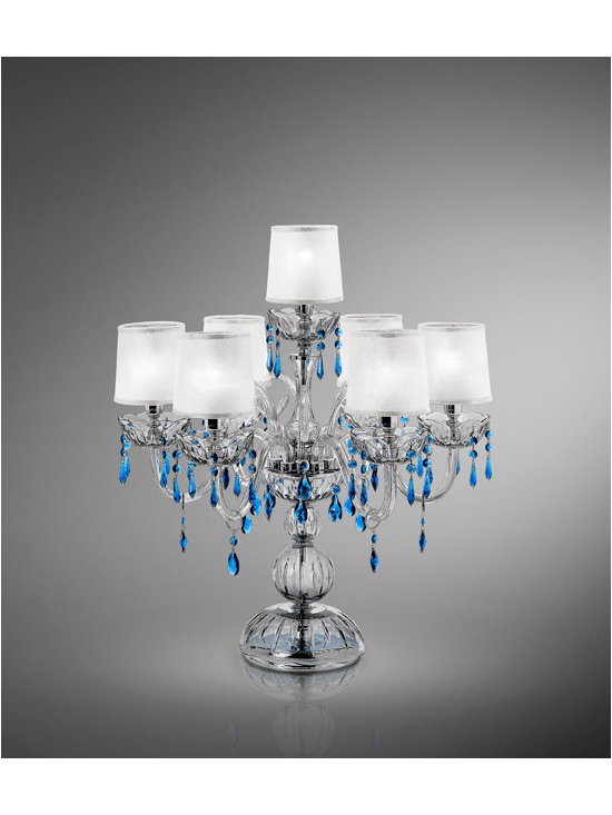 "Italamp Cult Edition ""Armonia Table"" - Italamp Table lamp with Swarovski Elements IT/259/LT.FU"
