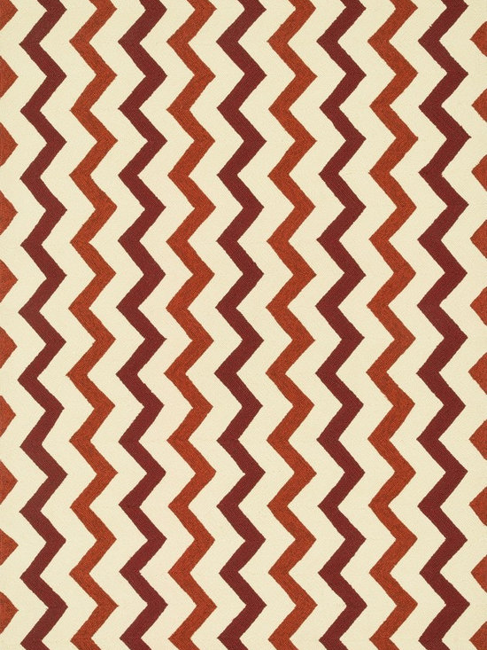 """Loloi Rugs - Loloi Rugs Palm Springs Collection - Red / Rust, 9'-3"""" x 13' - For the first time ever, world renowned designer Dann Foley brings his eye for great design and modern living to outdoorrugs. With patterns and colors as dynamic as Dann's persona, the Palm Springs Collection reflects Dann's passion forfun outdoor decorating. Palm Springs is hand hooked in China of 100% polypropylene that's specially treated to befade-resistant in spite of regular sunshine or rain."""