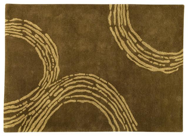 Pamplona Olive Green Rug modern-rugs