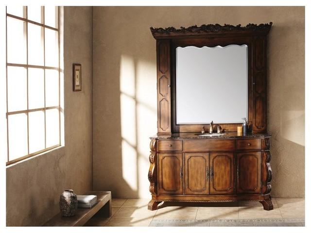 Bathroom Vanity With Hutch