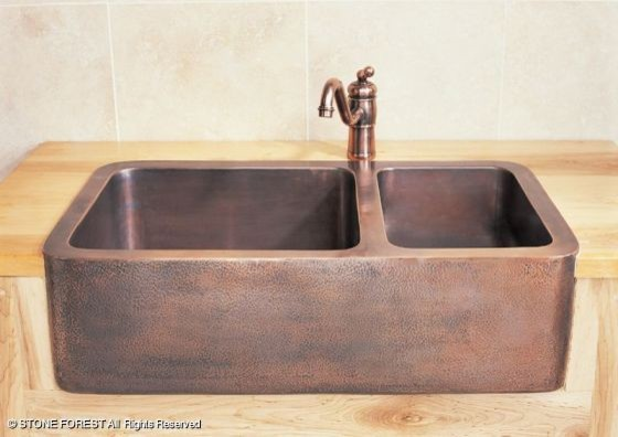 Stone Kitchen Sink : Stone Kitchen Sinks Stone forest farmhouse sinks