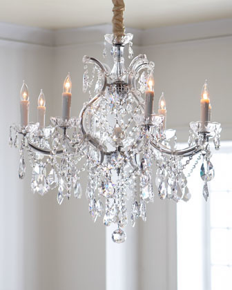 Crystal Drop Chandelier traditional-chandeliers