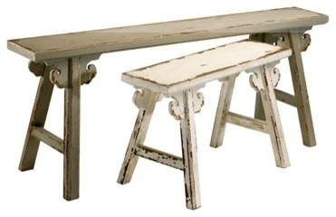 Amish Style Benches by Cyan Design rustic-indoor-benches