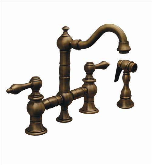 Whitehaus Whkbtlv3-9206-Ab Bridge Faucet contemporary-kitchen-faucets