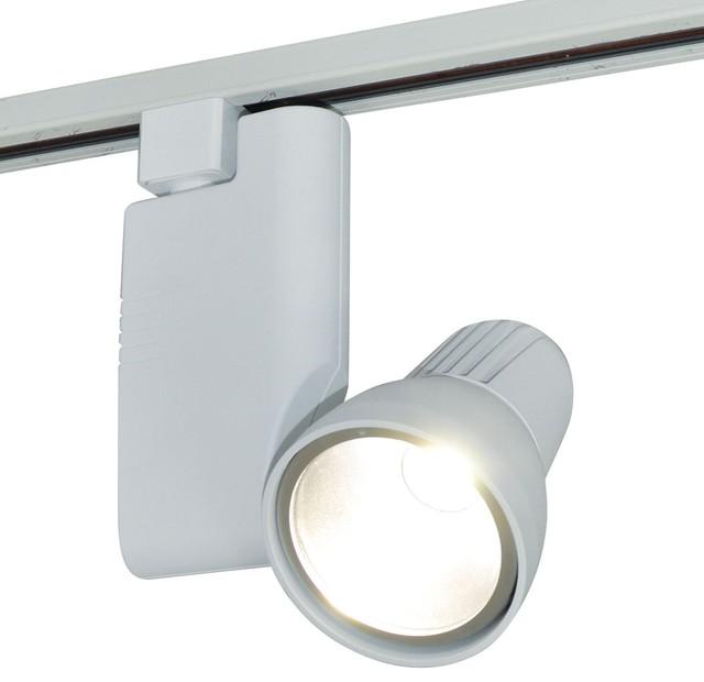 Nora nte 810 pillar 18w led track head modern track for Modern led track lighting