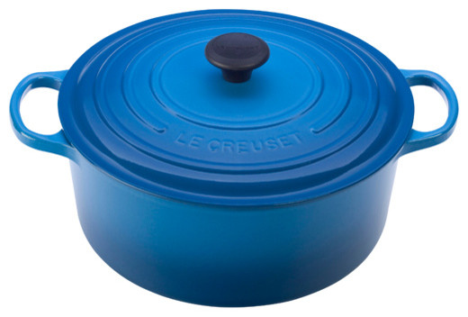 Le Creuset Signature Enameled Cast Iron Round French Oven traditional-dutch-ovens-and-casseroles