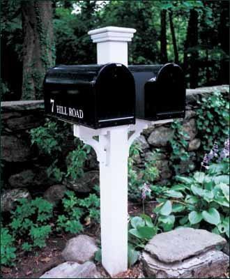 Duet Mail Post modern-mailboxes