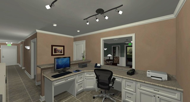 Light Commercial Projects traditional-rendering