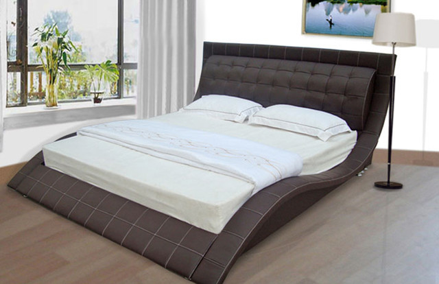 Joy new design modern beds other metro by born for Latest model bed design