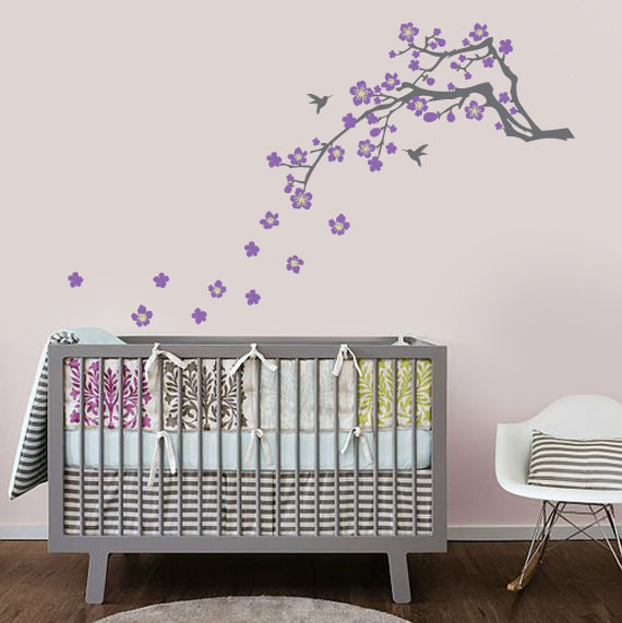 Nursery wall decals best baby decoration for Baby room decoration pictures