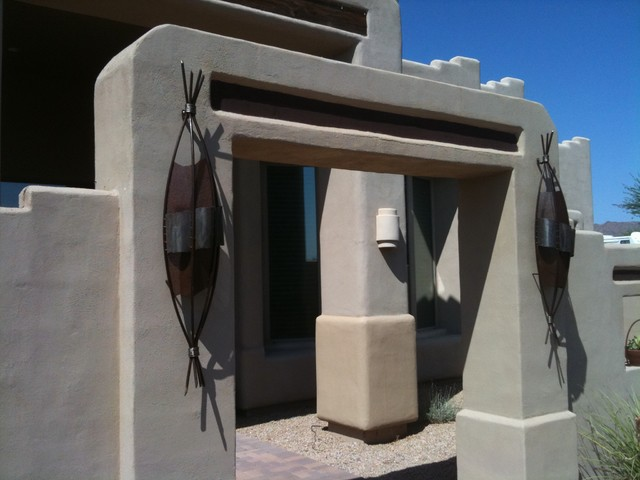 Southwestern Sconces - lighting - phoenix - by Steel & Stone