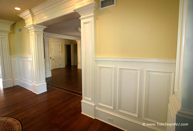Wainscot and Picture Frames - Traditional - by Trim Team NJ