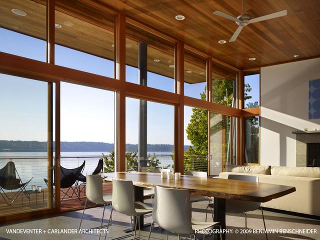 Vashon Cabin modern-dining-room