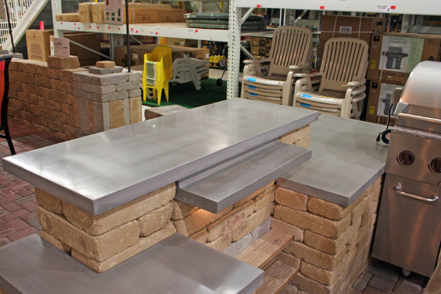 Concrete Bar Tops Indoor Pub And Bistro Tables Minneapolis By Concrete Arts