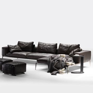 Flexform Lifesteel Sectional Sofa modern-sectional-sofas