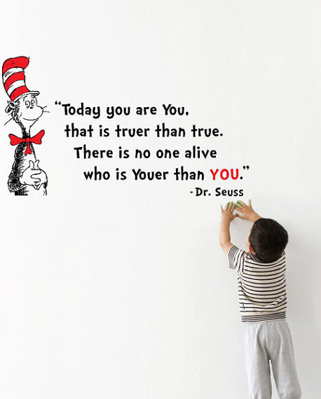 dr seuss youer than you wall decal by molls designs pics photos cat in the hat dr seuss wall decals art