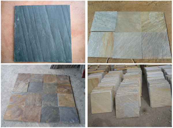 Slate Flooring Tiles,Slate Floor Tiles, Slate Wall Tiles, by China