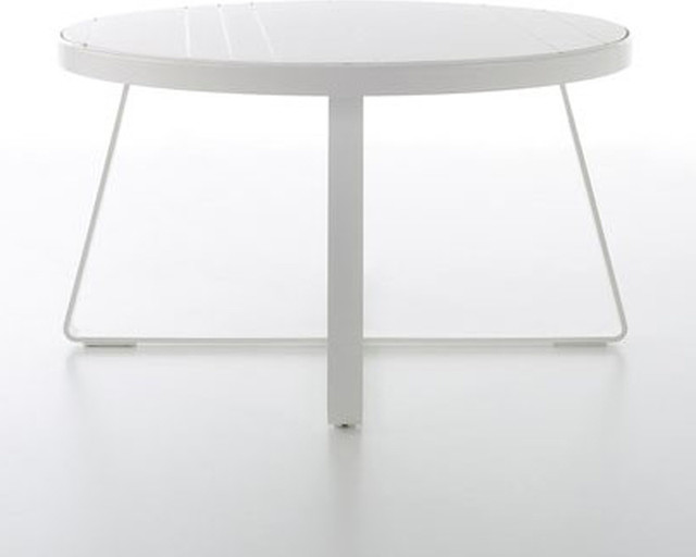 Gandia Blasco Flat Dining Table Round Modern Dining