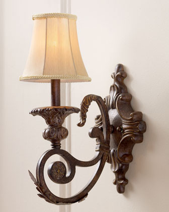 """Valent"" Sconce traditional-wall-sconces"