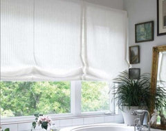 Relaxed Roman Shade  roman blinds