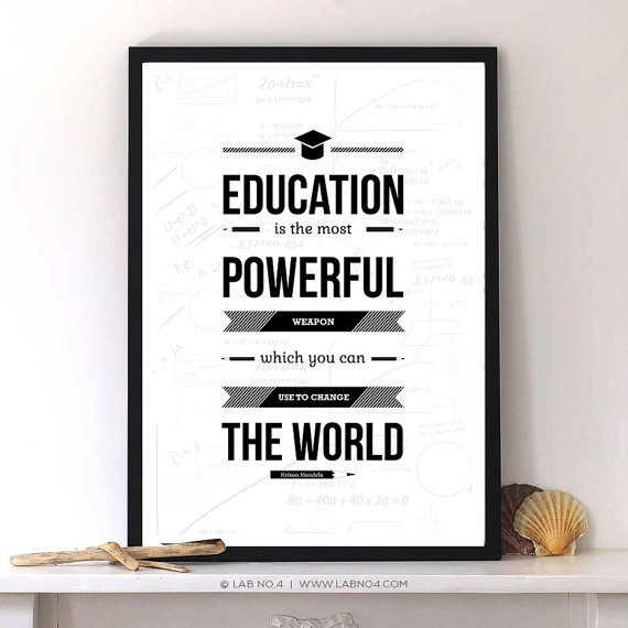 education is the most powerful weapon essay Talk:nelson mandela from because education is the most powerful weapon which we can use as it most likely derives from gandhi's essay the doctrine.
