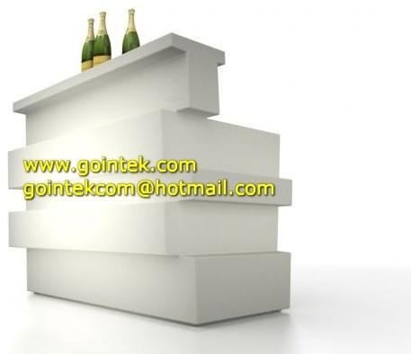LED Commercial Coffee Counters For Bar Decoration modern-bar-tables