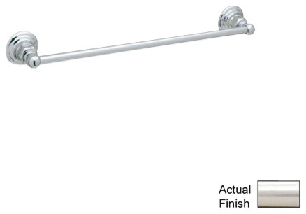 Rohl Bath ROT1/24STN Towel Bar contemporary-towel-bars-and-hooks