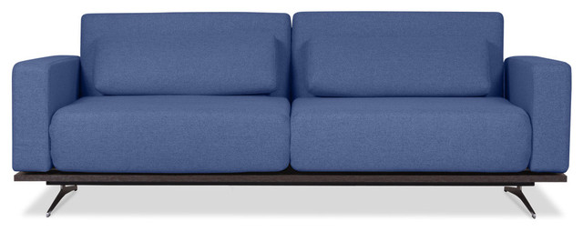 Copperfield Blue Sleeper Sofa modern-sofas