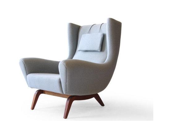 Illum Wikkelsø #110 Søren Willadsen Teak Easy Chair -