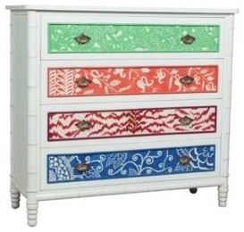 Island Cottage Bamboo Chest contemporary-furniture