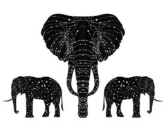 The Constellation of the Elephant by Alexander Beeching eclectic-artwork