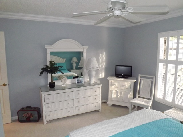 Boca paint crown transitional Touch of grey benjamin moore