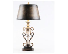 Scroll Table Lamp traditional-table-lamps