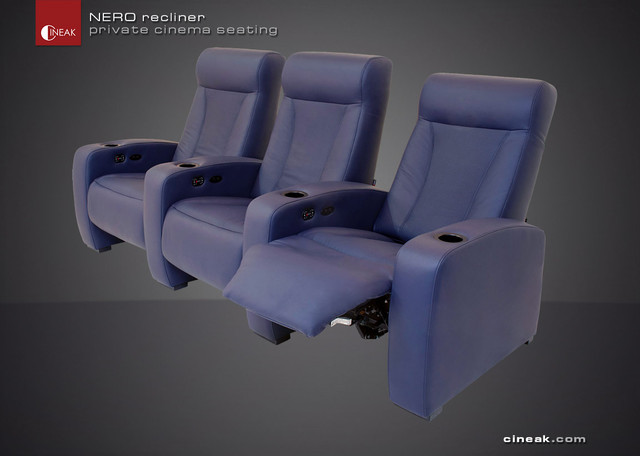 New Nero Home Theater Seats contemporary-accent-chairs