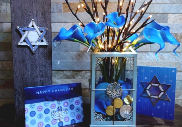 Hanukkah lantern traditional holiday decorations for Hanukkah home decorations