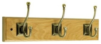 Liberty Hardware 129853 0 18 Inch Hook - Antique Brass modern-towel-bars-and-hooks