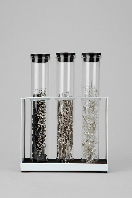 Test Tube Office Supply Set eclectic-desk-accessories